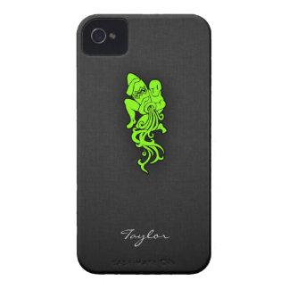 Acuario verde chartreuse de neón Case-Mate iPhone 4 funda