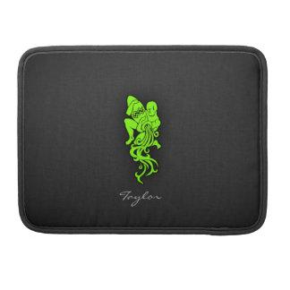 Acuario verde chartreuse, de neón fundas para macbook pro
