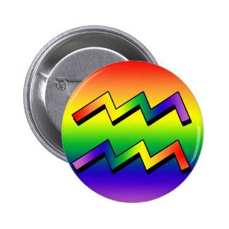 Acuario w de GLBT Pins