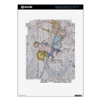 """Acuario y Capricornio, """"de un atlas celestial"""", iPad 3 Skins"""