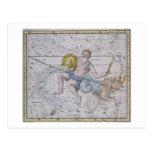 """Acuario y Capricornio, """"de un atlas celestial"""", Postales"""