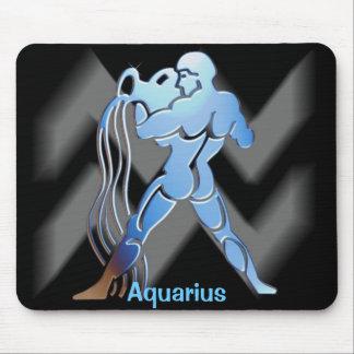 Acuario - zodiaco Mousepad