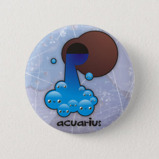 Acuarius buttom pinback button