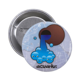 Acuarius buttom pinback button