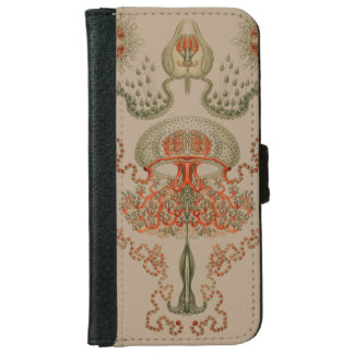 ~ acuático Haeckel de la vida Funda Cartera Para iPhone 6