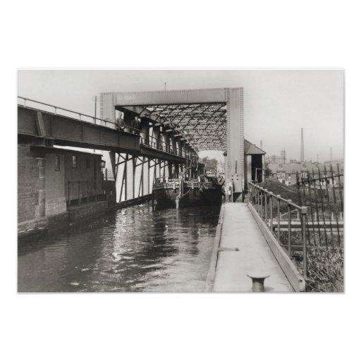 Acueducto c1900 del oscilación de Barton Fotografias