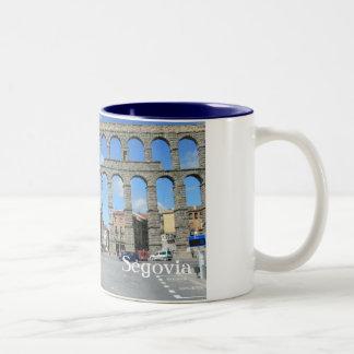 Acueducto de Segovia, Spain Two-Tone Coffee Mug