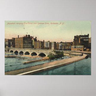 Acueducto del canal Erie en Rochester céntrica NY Impresiones