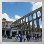 Acueducto, Segovia, España Posters