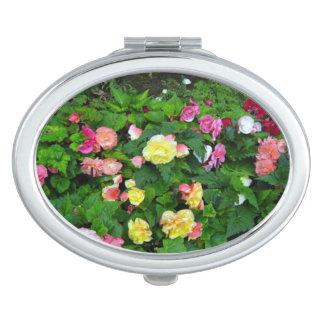 Acuerdo del jardín de flores espejo para el bolso
