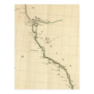 Acuerdos indios California Tarjeta Postal