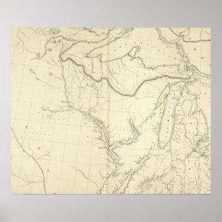 Acuerdos indios en Norteamérica 4 Impresiones