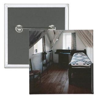 Acueste, carril de toalla diseñado por Ford Madox  Pin Cuadrado