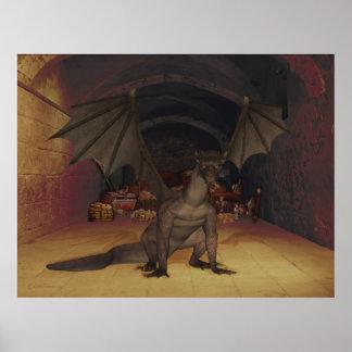 Acumulación de los dragones póster