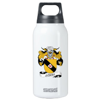 Acuna Family Crest Insulated Water Bottle