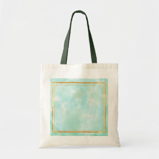 acuñe el color de agua, modelo cuadrado de muy bolsas de mano