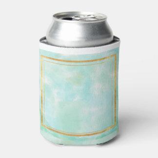 acuñe el color de agua, modelo cuadrado de muy enfriador de latas
