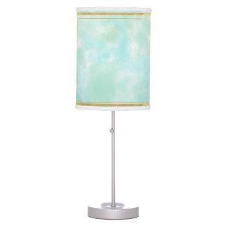 acuñe el color de agua, modelo cuadrado de muy lámpara de escritorio