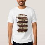 acuñe el helado de la semilla de cacao con las poleras