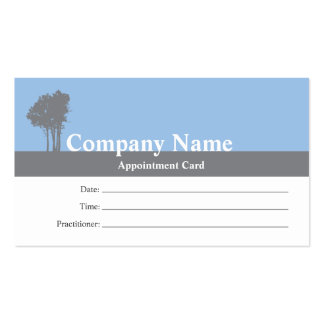 Acupuncture Business card appointment card