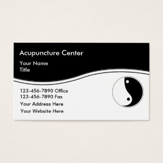 Acupuncture Business Cards