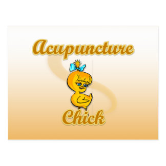 Acupuncture Chick Post Card