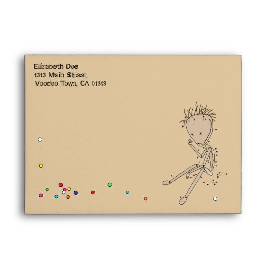 'Acupuncture' Envelope