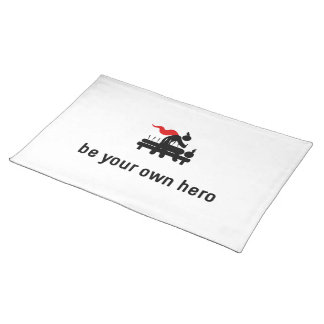 Acupuncture Hero Cloth Placemat