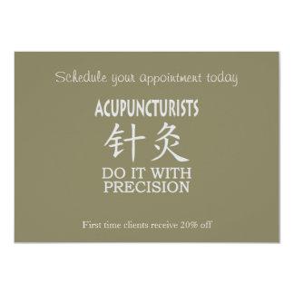 Acupuncture humor card