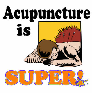 acupuncture is super acrylic cut out