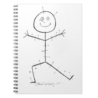 Acupuncture sticky notebook