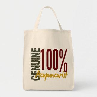Acupuncturist auténtico bolsa tela para la compra
