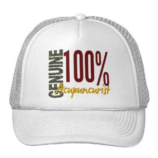 Acupuncturist auténtico gorras