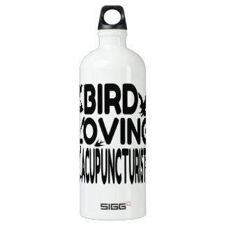 Acupuncturist cariñoso del pájaro