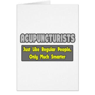 Acupuncturists .. Smarter Card