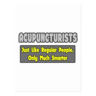 Acupuncturists .. Smarter Postcard