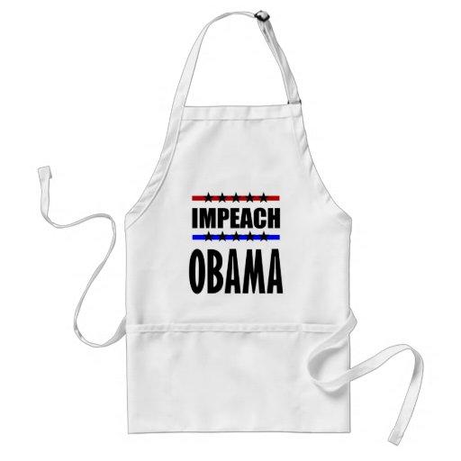 Acuse a Obama Delantal
