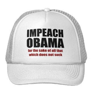 Acuse a Obama Gorro De Camionero