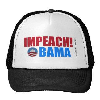 Acuse a Obama Gorras