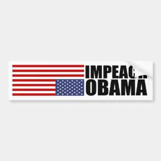 Acuse a Obama Pegatina Para Auto