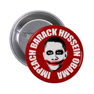 Acuse a Obama Pin Redondo 5 Cm