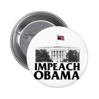 Acuse a Obama Pin Redondo De 2 Pulgadas