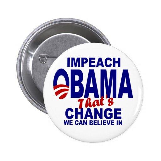 Acuse a Obama Pins