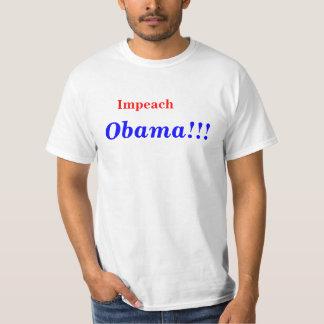 Acuse a Obama Playera