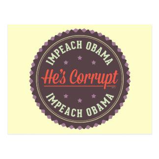 Acuse a Obama Postal