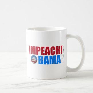 Acuse a Obama Taza De Café