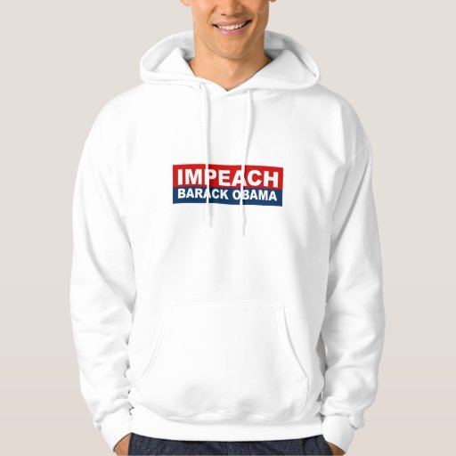 Acuse el suéter con capucha de Barack Obama