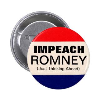 Acuse Romney Pin