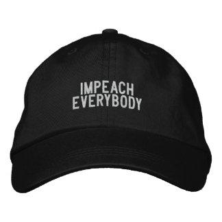 acuse todos gorra de béisbol