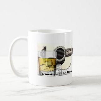 """Acústico en taza de café de las rocas"" básica"